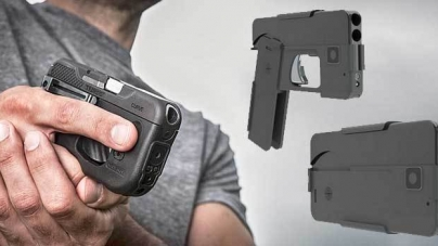 Controversial new handgun design looks exactly like a smartphone