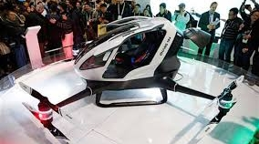 World's first passenger drone unveiled at CES