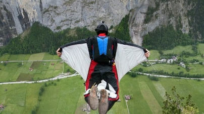 Wingsuit BASE Jumper Lands Through Roof Proves This Is An Extreme Sport